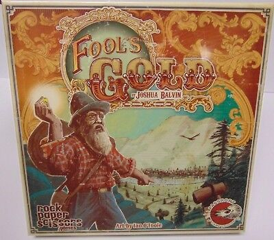 Sealed New 2013 Fool's Gold 1849 Gold Rush Mining For Gold Board Game Adult 14+