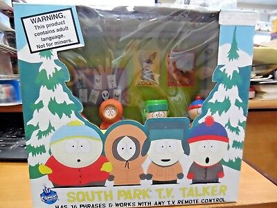 South Park TV Talker 1998 16 phrases works with TV Remote Control  NIB !!