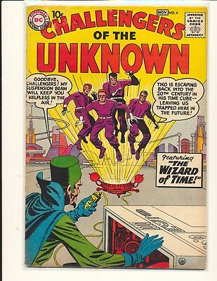 Challengers of the Unknown # 4 VG+ Cond.