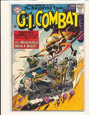 G.I. Combat # 108 - 1st Sgt. Rock crossover VG+ Cond. slight water damage