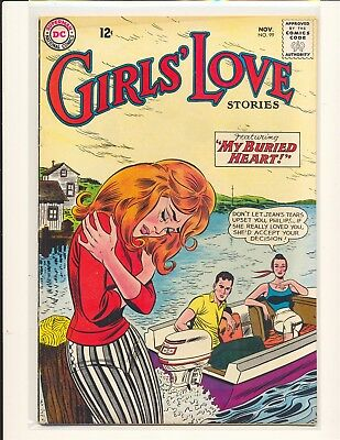 Girls' Love Stories # 99 Good Cond. cover detached