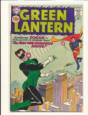 Green Lantern # 14 VG+ Cond. price sticker on cover