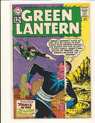 Green Lantern # 15 VG Cond. subscription crease