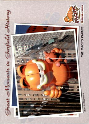 2004 Garfield Collection Paw Print Parallel Non-Sport Card #22 The Macy's Parade