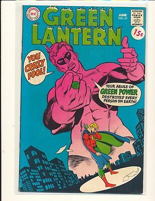 Green Lantern # 61 VG+ Cond. price sticker on cover