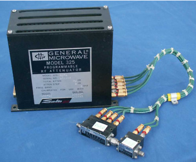 Attenuateur Rf Programmable General Microwave 325/ Df 0261