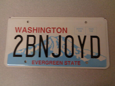 US Schild Amerikanisches Nummernschild  Autoschild Washington Evergreen State