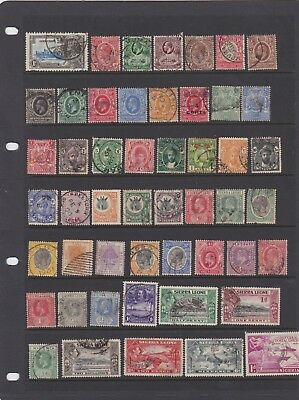 Commonwealth pre QE2 collection fine used