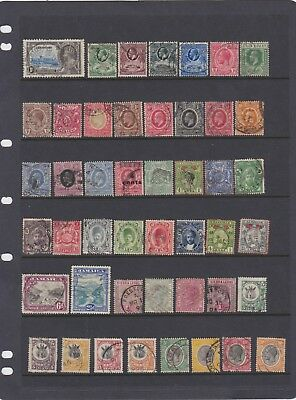 Commonwealth pre QE2 used collection  no duplication