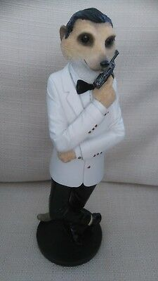 "Country Artists - Magnificent Meerkats ""connery"" Figurine - Dated 2013"