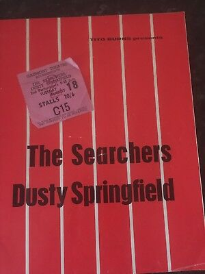 Dusty Springfield /The Searchers Programme
