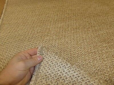Job Lot - 10m length of BEIGE - Chunky Chenille Upholstery Fabric