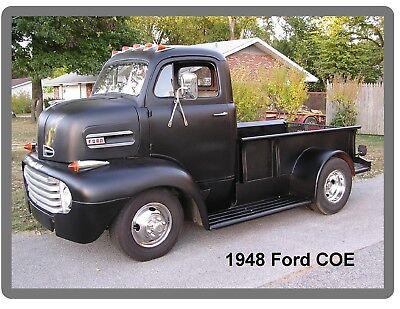 1948 Ford COE Truck  Auto Refrigerator / Tool Box  Magnet