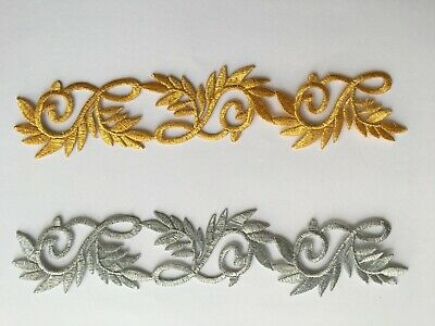 Embroidered applique motif costume patch iron on 20 cm*4 cm