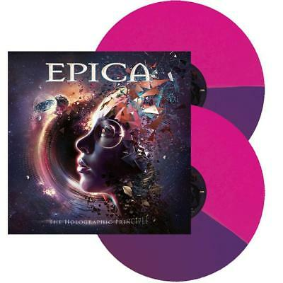 Epica - The Holographic Principle Ltd. 500 Copies 2LP Bi-Coloured Vinyl NEU/OVP