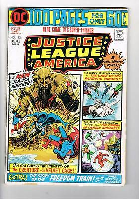 Justice League of America # 113  100 page issue  grade 5.0 scarce book !
