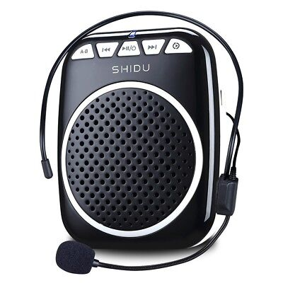 Voice Amplifier with 1200mAh Rechargeable Lithium-ion Battery Portable