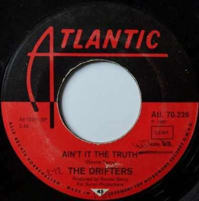 """The Drifters - Ain't It The Truth / Up Jumped The 7"""" Vinyl Schallplatte - 20398"""