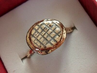 Detector Find,medieval/byzantine Bronze Ring.polished..