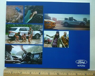 New 2019 Ford All Models Dealer Catalog Brochure Mustang Bullitt Cars Trucks