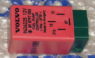 OEM Volvo 850 C70 S70 S90 V70 V90 (Fuel Pump) Relay #9434225