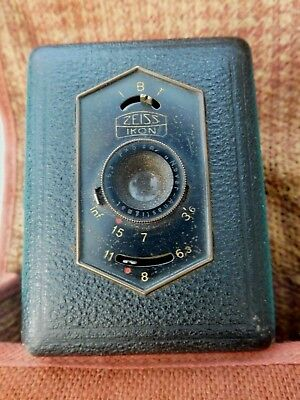 Zeiss Ikon Film A8 Germany Box-Tengor Camera in Box/Pouch