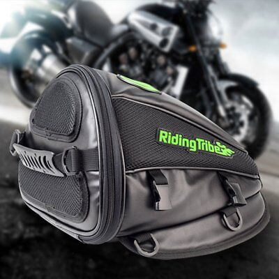 Motorcycle Fuel Tank Rear Seat Knight Package Side Microfiber Leather Bag QC