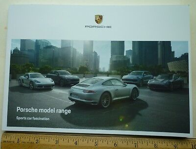 New 2019  All Models Dealer Catalog Brochure Porsche 911 917 E Macan Panamera