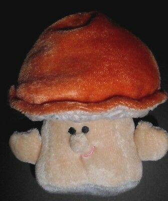 "Vintage AVON Somersaults Mini Pals ""FERGUS"" Stuffed Mushroom Plush (1985) RARE"