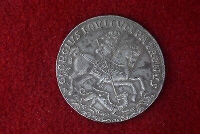 1690, Kingdom of Hungary. Large & Early Silver St. George Show Thaler Coin
