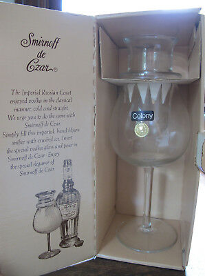 RARE Vintage Smirnoff de Czar Vodka Chiller Unused in Original Box
