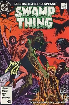 Swamp Thing (2nd Series) #48 1986 VG Stock Image Low Grade