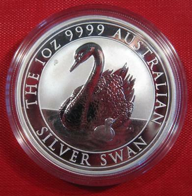 2018 Australia 1 oz Silver Swan Premium Sealed Coin - #2 in Series ONLY 25,000