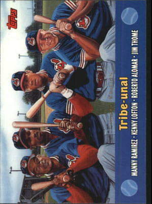 2000 Topps Combos Limited Edition #1 Ramirez/Lofton/Alomar/Thome Indians  C17521