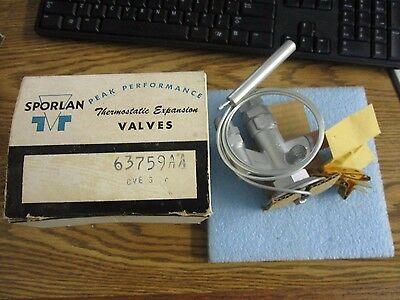 """Sporlan: PFE11-C Thermostatic Expansion Valve. 7/8"""" Inlet, 1 3/8 Out. New O<"""