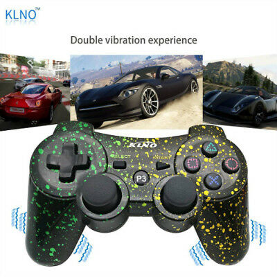 NEW Wireless Controller For PS3 Bluetooth PS3 Games Remote  With Cable  (SAC)