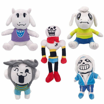 New Undertale Papyrus Sans Temmie Soft Plush Toy Asriel Stuffed Doll Animal Gift