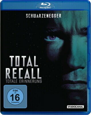 Total Recall - Totale Erinnerung - Blu Ray NEW