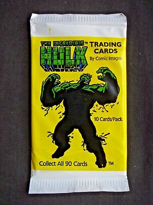 1991 Comic Images *the Incredible Hulk* Sealed Pack