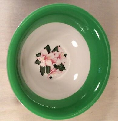 The Greenbrier Resort Dorothy Draper Rhododendron Large Serving Bowl C & O