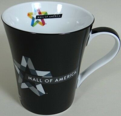 Quilter Coffee Mug Cup Mall of America MOA Black Gray Quilting Design No Damage