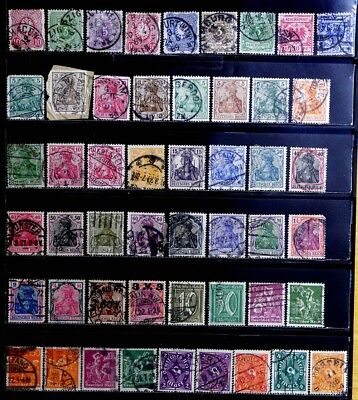 Germany: 1875-1921 Classic Era Stamp Collection With Germania