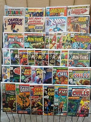 Marvel Silver Age Lot(38)Thor Spiderman Avengers GD-NM, .99 opening bid!