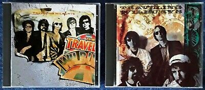 Traveling Wilburys - Volume 1 & Volume 3 - Wilbury Records  - 2 Cd Lot