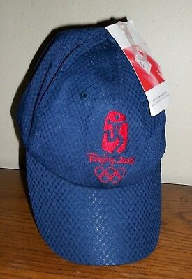 Beijing Olympics 2008 Baseball Hat/Cap  w/Tags Olympic Games    !!!!MUST SEE!!!!