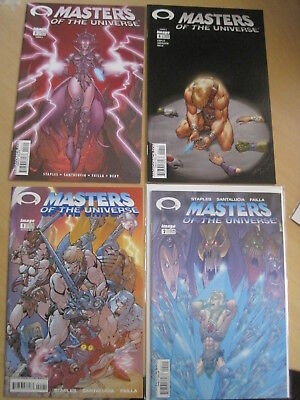 MASTERS of the UNIVERSE : COMPLETE VOL 1, 2002, 4 ISSUE IMAGE SERIES. HE MAN