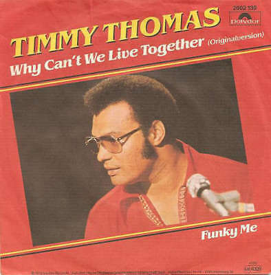 """Timmy Thomas - Why Can't We Live Together / Funky 7"""" Vinyl Schallplatte - 29648"""