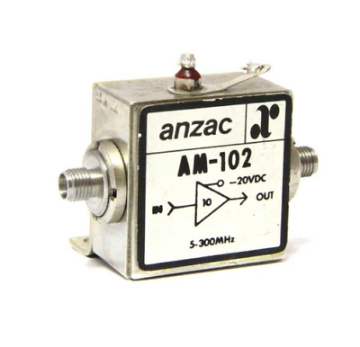 Amplificateur anzac am102 /DF 0284