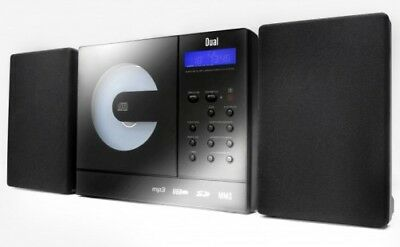 Hi-Fi System with CD Player, CD / MP3, USB, Sd, Aux-In Dual Vertical 150 Black