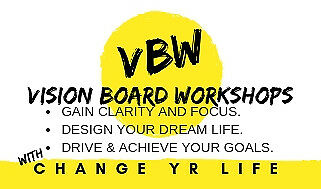 Vision Board Workshops with Change Yr Life- ADELAIDE